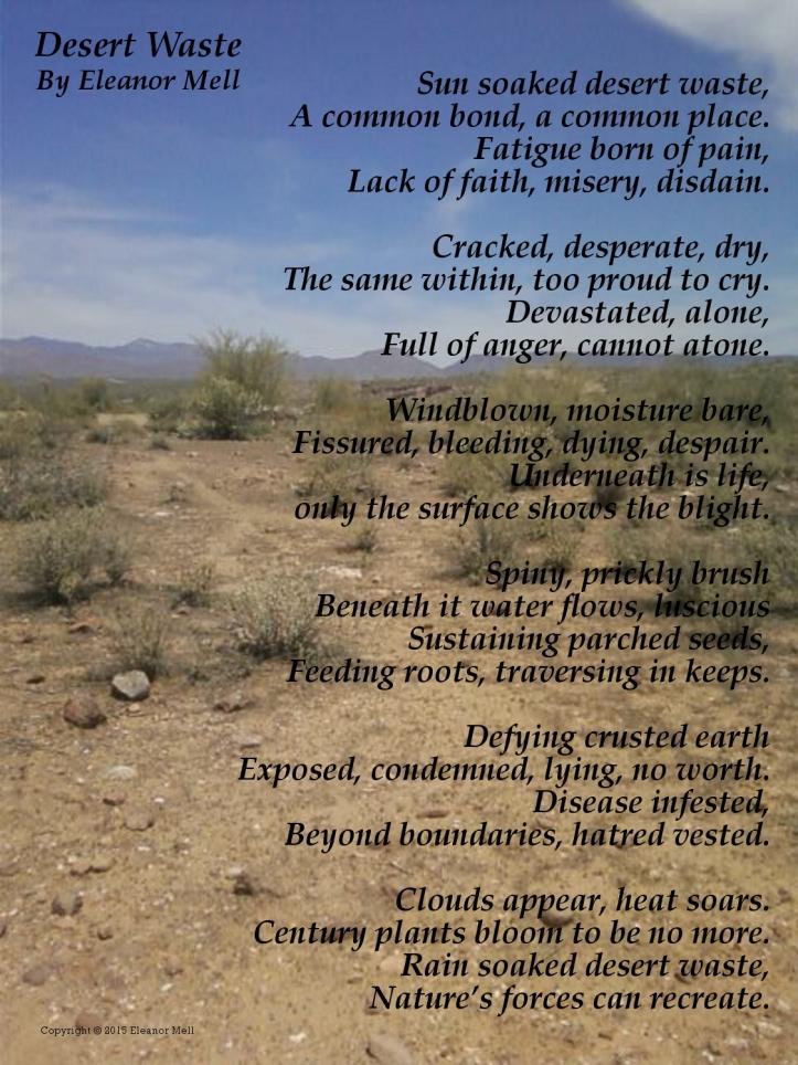 Desert Waste a Poem
